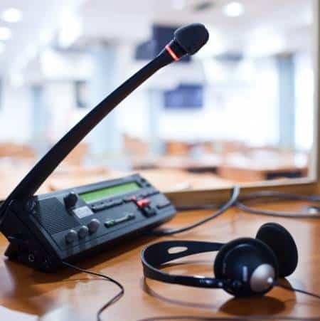 Simultaneous Interpretation Microphone