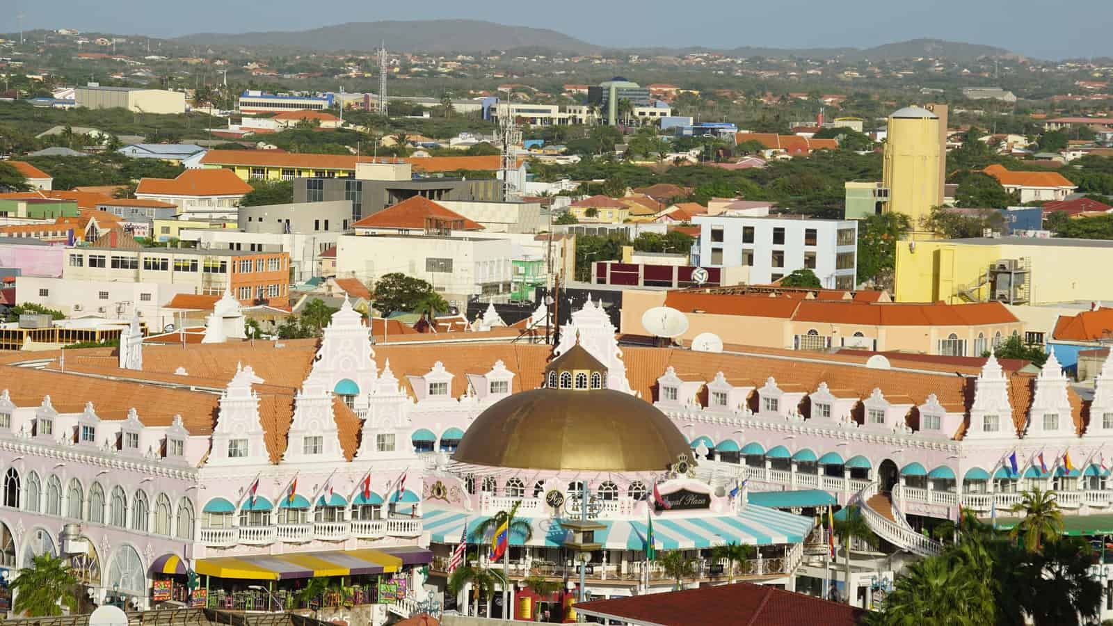 Colorful buildings of Aruba, Aruba Interpreter Services