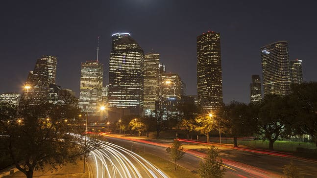 Skyline of the city of Houston, Houston Interpreter Services