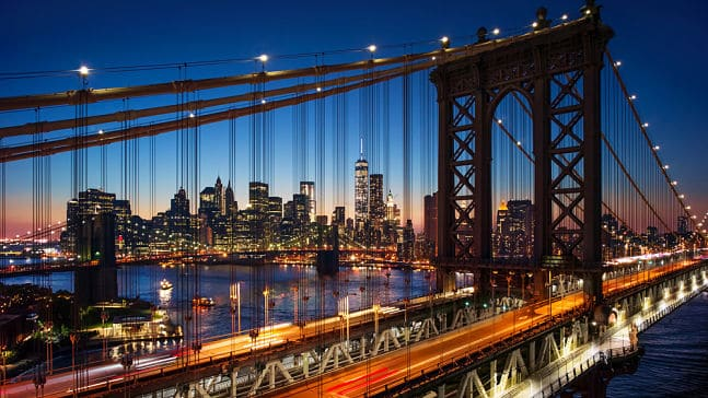 Brooklyn bridge of New York, New York Interpreter Services