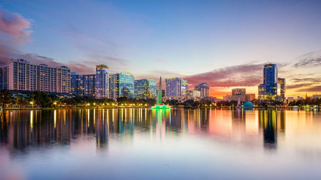 Orlando city skyline, Orlando Interpreter Services