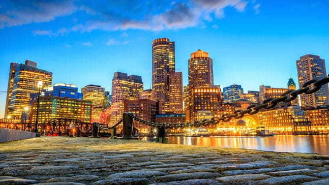 Skyline of the city of Boston, Boston Interpreter Services