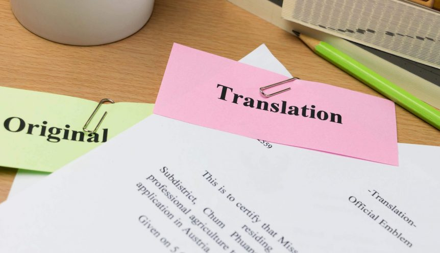 Language Services Preparing for HR Document Translations